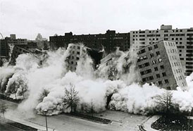 Destruction du quartier Pruitt-Igoe